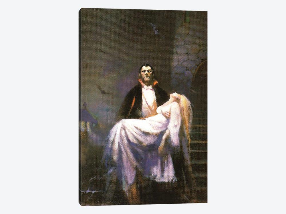 Dracula's Bride by Frank Frazetta 1-piece Canvas Print