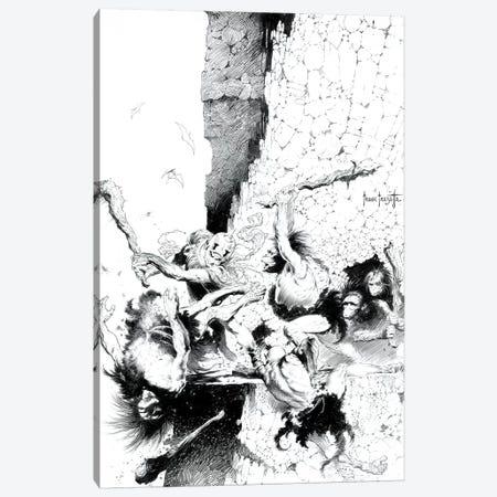 Buck Rogers Canvas Print #FRF47} by Frank Frazetta Canvas Art