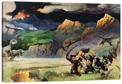 Lost World Canvas Art Print