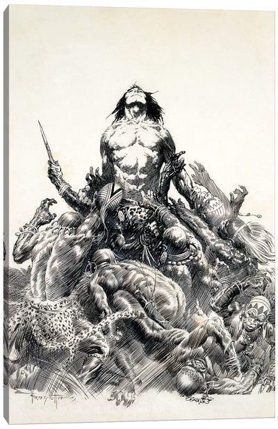 Ape Man Canvas Art Print