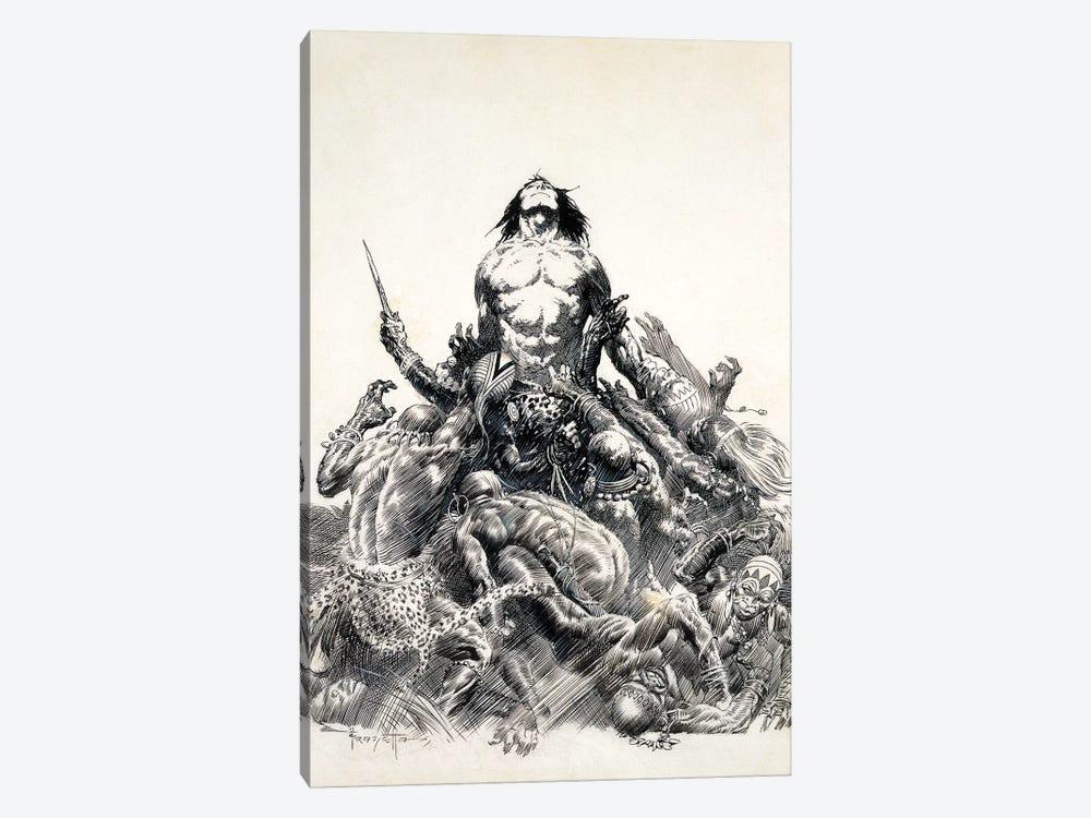 Ape Man by Frank Frazetta 1-piece Canvas Art