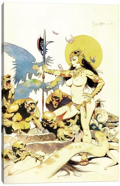 Ghoul Queen Canvas Art Print