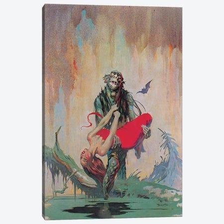 Monster Men Canvas Print #FRF67} by Frank Frazetta Canvas Art