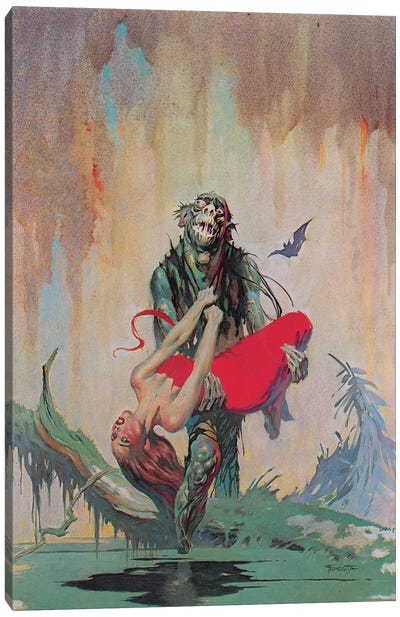 Monster Men Canvas Art Print