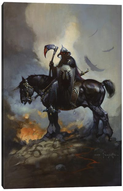 Death Dealer Canvas Art Print
