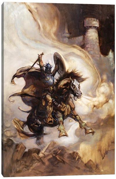 Defender Canvas Art Print