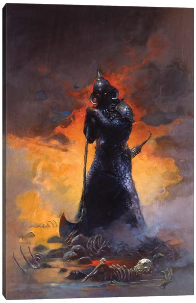Death Dealer III Canvas Art Print
