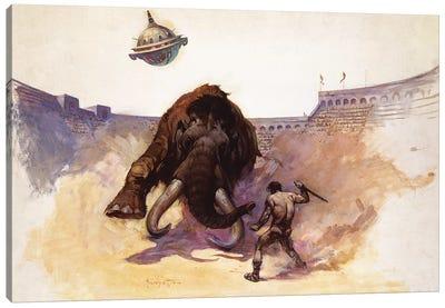Mastodon Canvas Art Print
