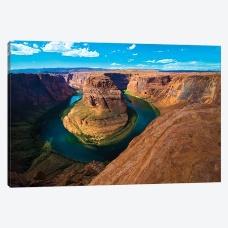 USA, Arizona, Glen Canyon National Recreation Area, Horseshoe Bend Canvas Print #FRI2} by Bernard Friel Canvas Wall Art