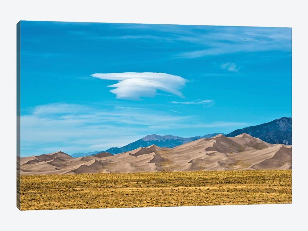USA, Colorado, Alamosa, Great Sand Dunes National Park and Preserve II by Bernard Friel 1-piece Canvas Wall Art
