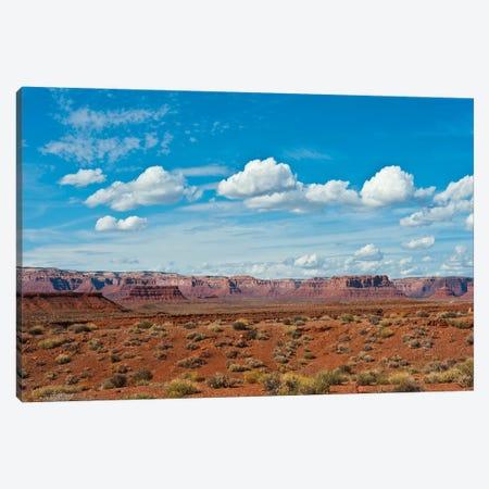 USA, Utah, Bluff, Valley of The Gods, Panorama, Bears Ears National Monument Canvas Print #FRI6} by Bernard Friel Canvas Print