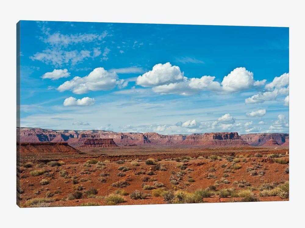 USA, Utah, Bluff, Valley of The Gods, Panorama, Bears Ears National Monument by Bernard Friel 1-piece Canvas Art
