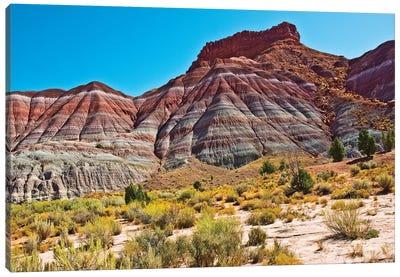 USA, Utah, Paria. View along trail to ghost town Canvas Art Print