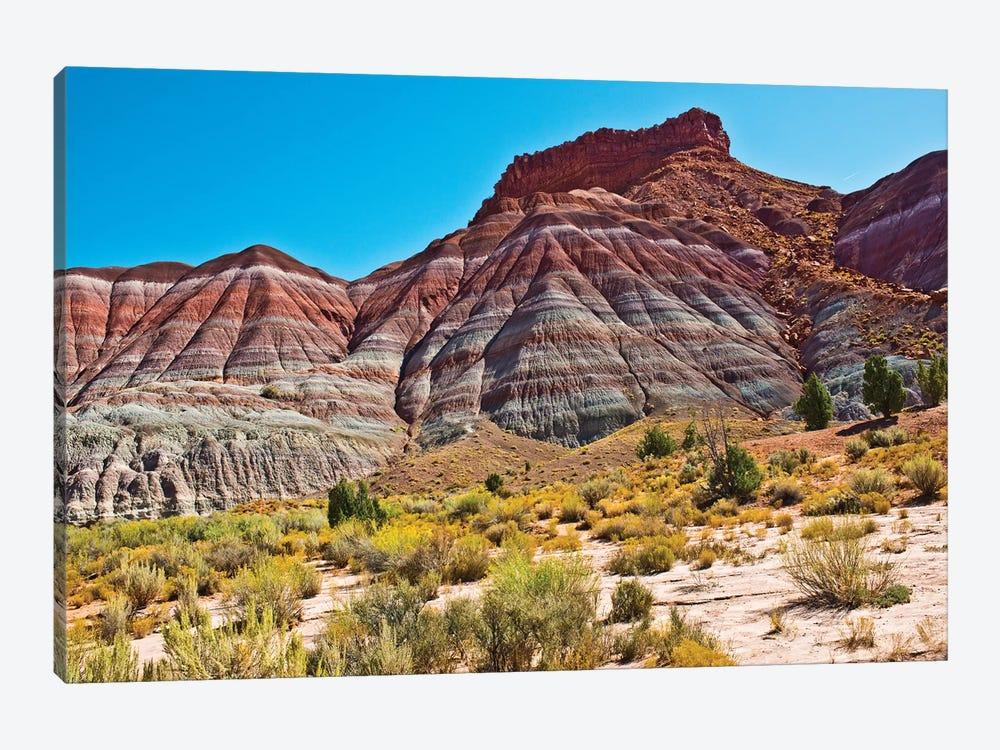 USA, Utah, Paria. View along trail to ghost town by Bernard Friel 1-piece Art Print