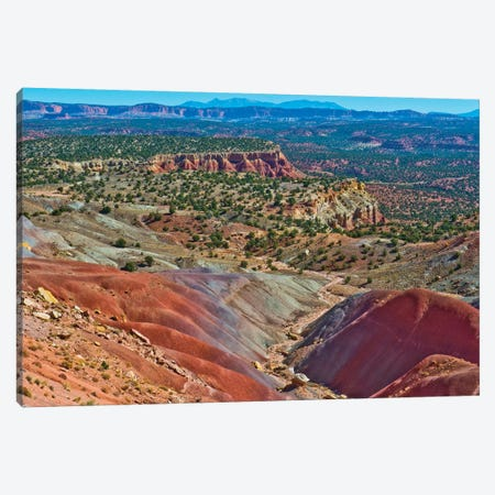 USA, Utah. Boulder, Burr Trail Road, Stud Horse Point Canvas Print #FRI8} by Bernard Friel Canvas Wall Art