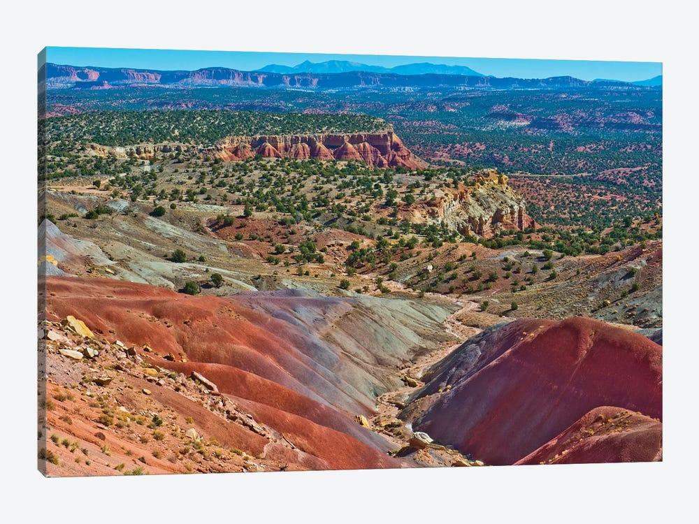 USA, Utah. Boulder, Burr Trail Road, Stud Horse Point by Bernard Friel 1-piece Canvas Artwork
