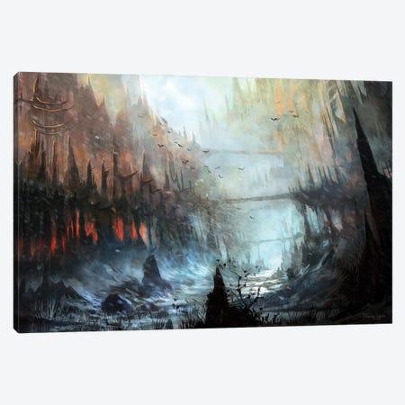 Monastery Canvas Print #FRL12} by Ferdinand Ladera Canvas Wall Art