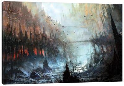 Monastery Canvas Art Print