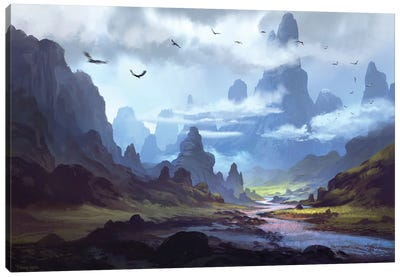 Mountainscape Canvas Art Print