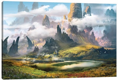 Mountsaimour Canvas Art Print