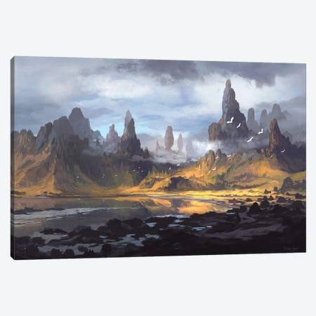 Mt Alebur Canvas Print #FRL16} by Ferdinand Ladera Canvas Print