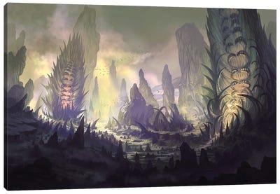 Mt Igmor Canvas Art Print
