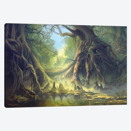 Mystical Forest Canvas Print #FRL18} by Ferdinand Ladera Canvas Art