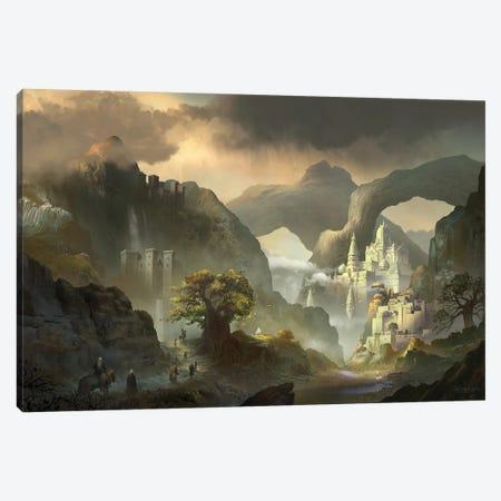 Shansatia Temple Canvas Print #FRL22} by Ferdinand Ladera Canvas Print