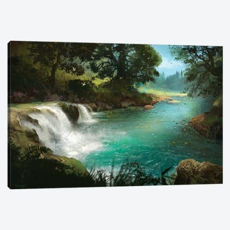 Stream Canvas Print #FRL23} by Ferdinand Ladera Canvas Print