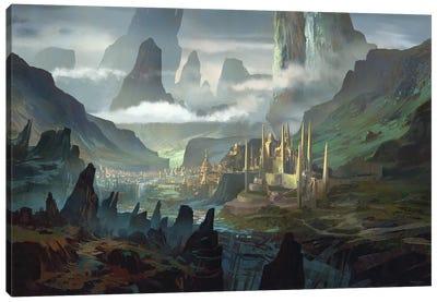 Taevaskoja-Kuningriik Canvas Art Print