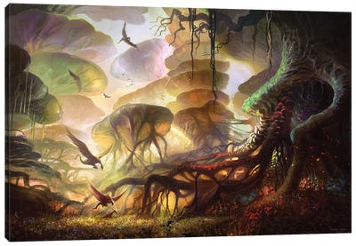 The Forest Of Keilah Canvas Art Print