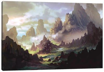 The Land Of Ar-Kinuth Canvas Art Print