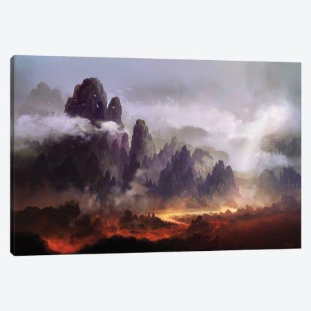 The Silence At Sacreorem Canvas Print #FRL31} by Ferdinand Ladera Canvas Art