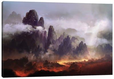 The Silence At Sacreorem Canvas Art Print