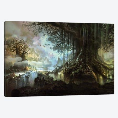 Tree Of Life Canvas Print #FRL38} by Ferdinand Ladera Canvas Artwork