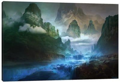 Blue-River Canvas Art Print