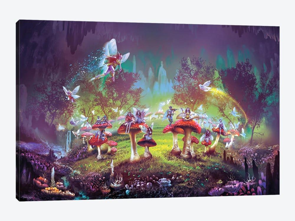 Dimlight forest Sorcerer's Ring by Ferdinand Ladera 1-piece Art Print