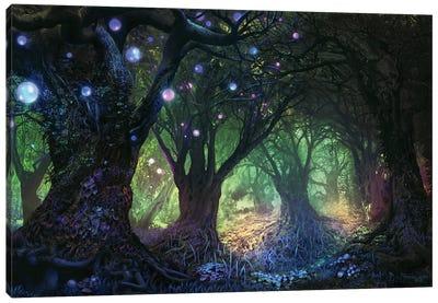 Forest Wisp Canvas Art Print