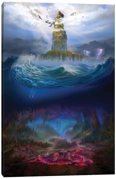Island Kingdom Canvas Art Print