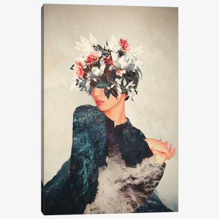 Kumiko Canvas Print #FRM14} by Frank Moth Canvas Wall Art