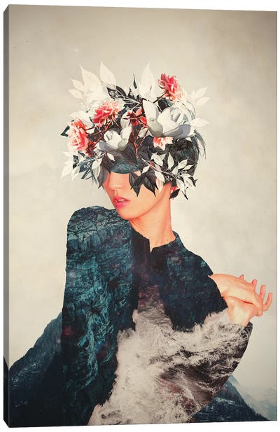 Kumiko Canvas Art Print