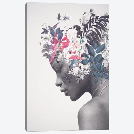 Memento Canvas Print #FRM19} by Frank Moth Art Print