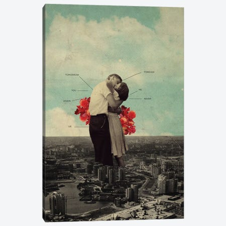 NeverForever Canvas Print #FRM25} by Frank Moth Canvas Print