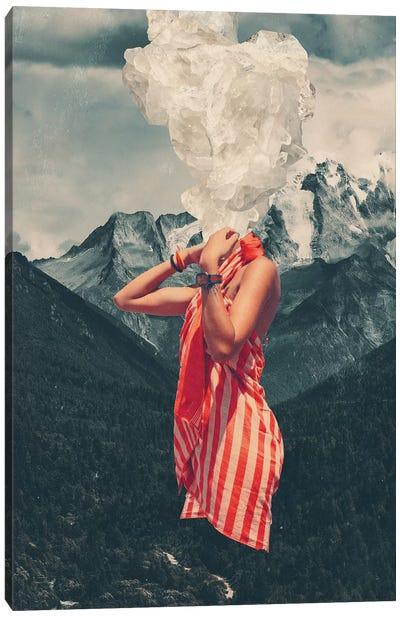 Overthinking Canvas Art Print