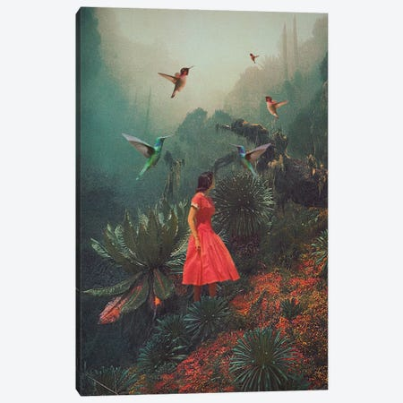 20 Seconds before the Rain Canvas Print #FRM2} by Frank Moth Canvas Wall Art