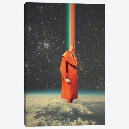 Spacecolor Canvas Print #FRM35} by Frank Moth Canvas Wall Art