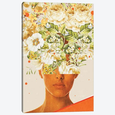 Superflowerhead Canvas Print #FRM38} by Frank Moth Canvas Print