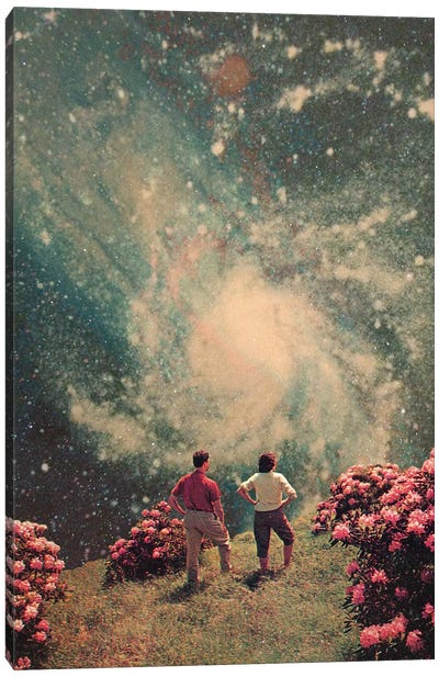 There Will be light in the End Canvas Art Print