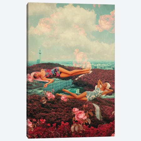 Those Pink Afternoons Canvas Print #FRM46} by Frank Moth Canvas Print