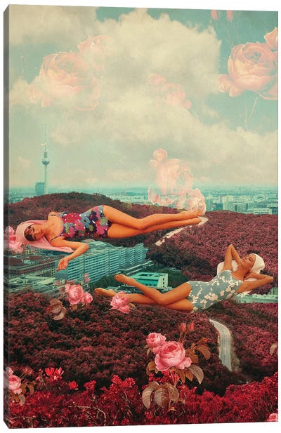 Those Pink Afternoons Canvas Art Print